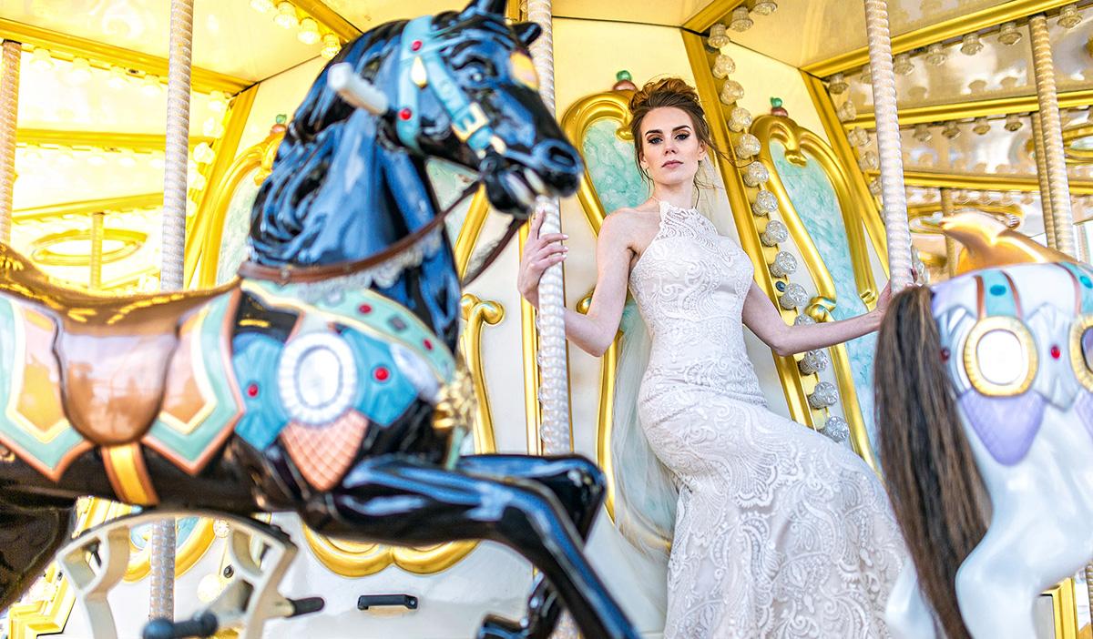 Sesja ślubna w stylu glamour